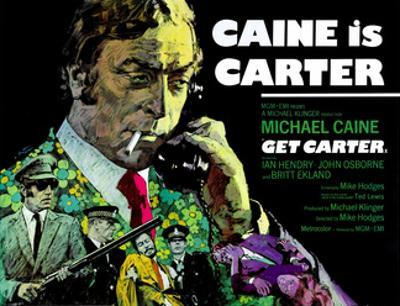 Get Carter, British Poster, Michael Caine, 1971