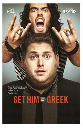 Get Him To The Greek Movie Jonah Hill Russell Brand Poster Print