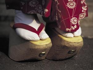 Geta Shoes, Japan