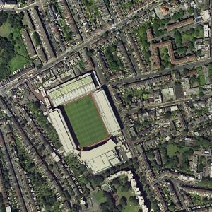 Arsenal's Highbury Stadium, Aerial View by Getmapping Plc