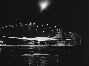 Getting a B-29 Ready for a Raid on Korea