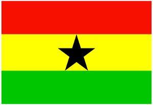 Ghana National Flag Poster Print
