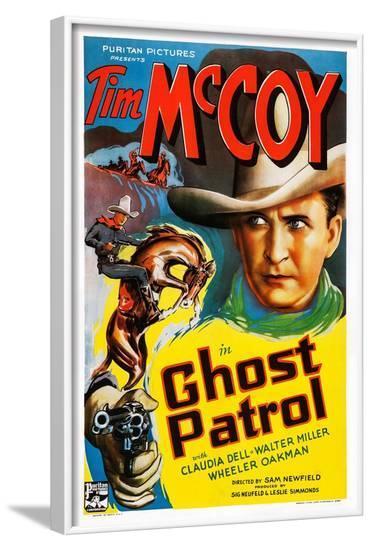 Ghost Patrol--Framed Art Print