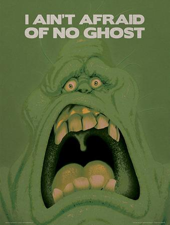 Ghostbusters (Slimer) Movie Poster