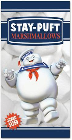 Ghostbusters - Stay Puft Marshmallow Man Beach Towel