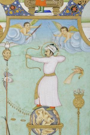 Detail from Allegorical Portrait of Jahangir