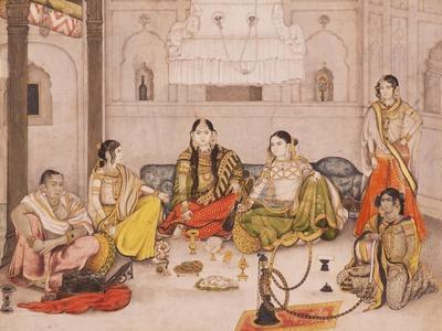 Group of Nautch Girls, 1800-25