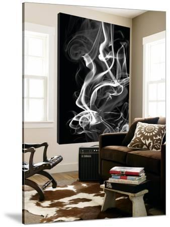 Black Smoke Abstract by GI ArtLab
