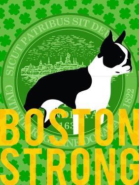 Boston Strong F by GI ArtLab