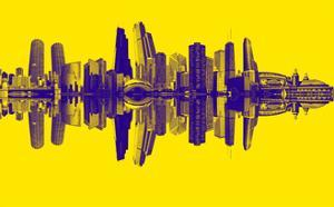 Chicago City Beat Yellow by GI ArtLab