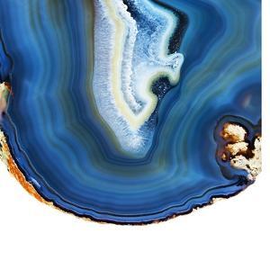 Cobalt Blue Agate A by GI ArtLab