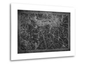 Dallas Map A by GI ArtLab