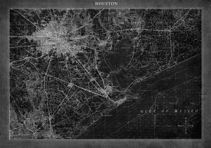 Houston Map A by GI ArtLab