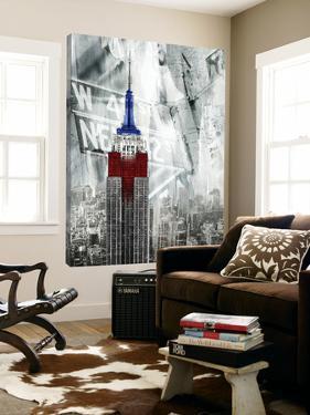 Patriotic Empire State by GI ArtLab