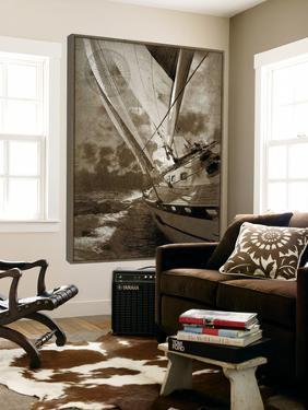 Sailing in Sepia A by GI ArtLab