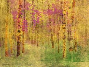 Spring Birch Trees by GI ArtLab