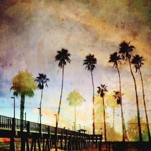 Sunset on the Pier A by GI ArtLab