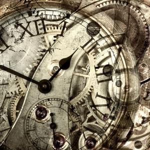 Vintage Clock by GI ArtLab