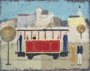 Street Railway by Gia Revazi