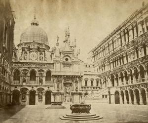 Doge's Palace by Giacomo Brogi