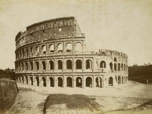 The Colosseum by Giacomo Brogi