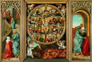 Tryptych of the Rosary by Giacomo Ceruti