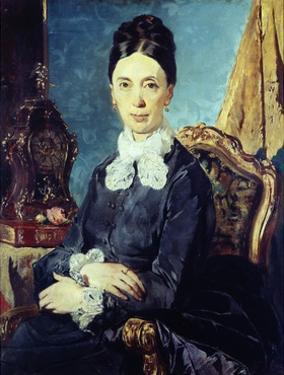 Portrait of Relative by Giacomo Favretto