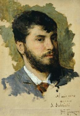 Self-Portrait by Giacomo Favretto