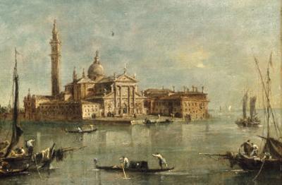 enice, the Island of San Giorgio Maggiore