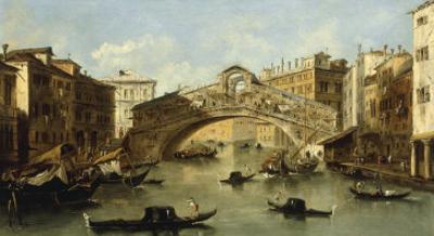 Venice, the Rialto Bridge