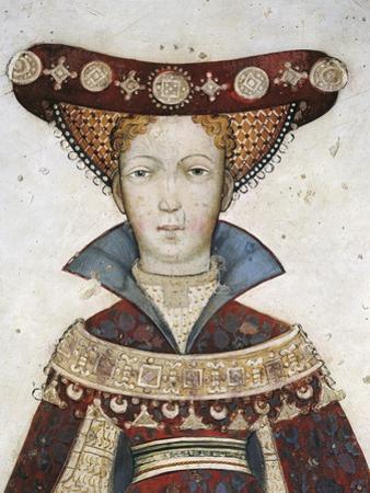 Figure of Hippolyta, Detail of a Fresco