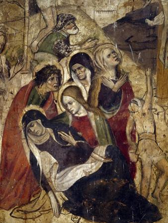 Pious Women, Detail from Calvary