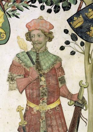 The Nine Worthies and the Nine Worthy Women, Detail of Judas Maccabeus, 1418-30