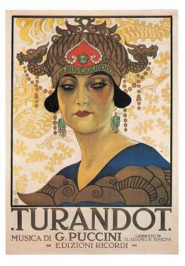 Puccini- Vintage Turandot by Giacomo Puccini