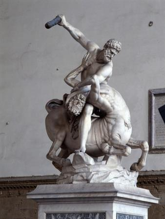 Hercules Killing the Centaur (Marble) (See also 353893-4)