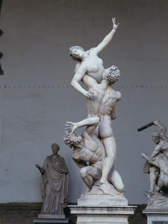 The Rape of the Sabine Woman, 1574-82