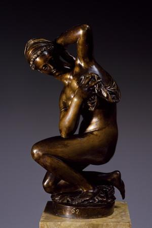 Venus Kneeling Drying Herself