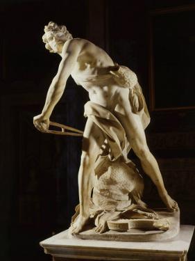David, 1622-24, marble by Gian Lorenzo Bernini