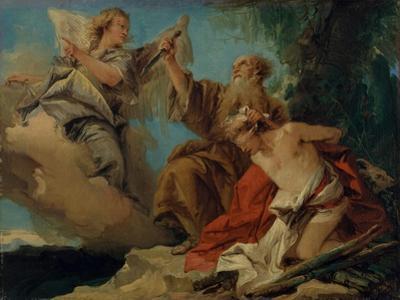 The Sacrifice of Isaac, c.1750 by Giandomenico Tiepolo