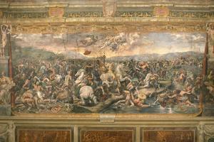 The Battle of the Milvian Bridge, 1517-1524 by Gianfrancesco Penni