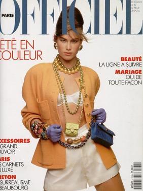 L'Officiel, April-May 1991 - Meghan Habillée Par Chanel Boutique by Gianpaolo Vimercati