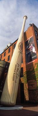 Giant Baseball Bat Adorns Outside of the Louisville Slugger Museum and Factory, Louisville