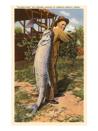 Fishing vintage photography posters at for Fishing in corpus christi texas
