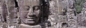 Giant Stone Faces, Angkor Thom Nr Siem Reap, Cambodia