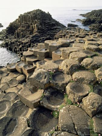 Giants Causeway, Unesco World Heritage Site, County Antrim, Ulster, Northern Ireland by G Richardson