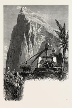 Gibraltar and Ronda, North Front, 19th Century