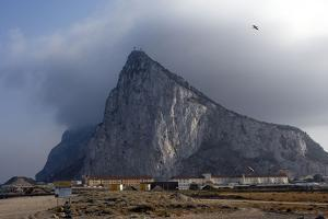 Gibraltar Rock of Gibraltar with Levante