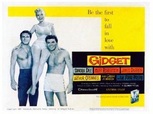 Gidget, Cliff Robertson, Sandra Dee, James Darren, 1959