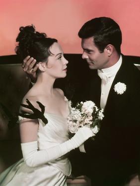 GIGI, 1958 directed by VINCENTE MINNELLI Leslie Caron / Louis Jourdan (photo)