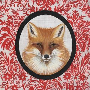 Fox Portrait by Gigi Begin